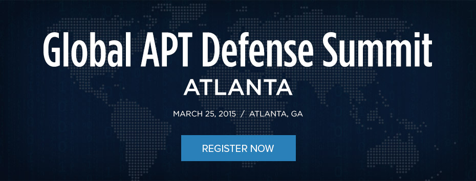 Global APT Defense Summit Atlanta